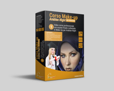 Corso Make-up Arabian Night Online + Esame con Attestato