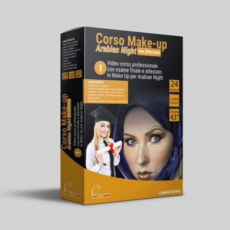 Corso Make-up Arabian Night Online + Esame con Attestato