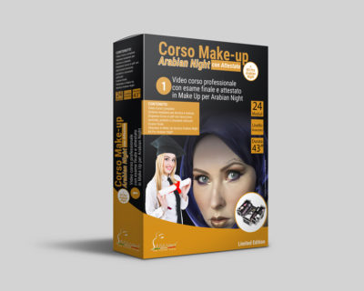 Corso Make-up Arabian Night Online + Esame con Attestato + Kit