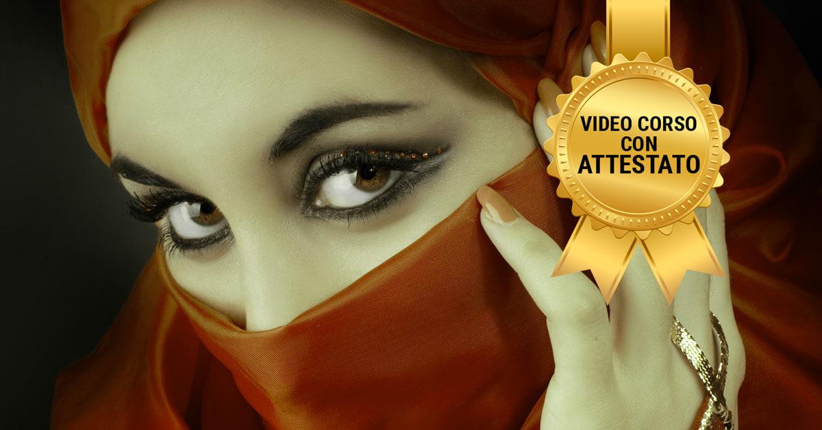 internetski tečaj arapskog noćnog šminkanja sa certifikatom
