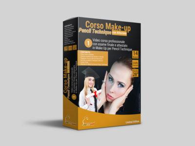 CORSO MAKE-UP PENCIL TECHNIQUE ONLINE + ESAME CON ATTESTATO
