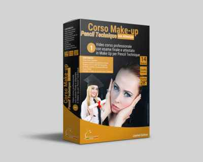 Corso Make-up Pencil Technique Online + Esame con Attestato