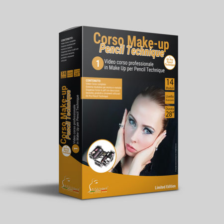 Corso Make-up Pencil Technique Online + Kit