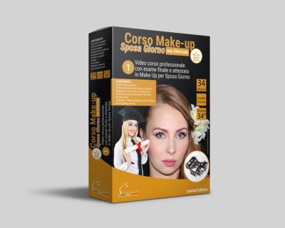 Corso Make-up Sposa Giorno Online + Esame con Attestato + Kit