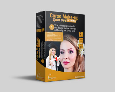 Corso Make-up Sposa Sera Online + Esame con Attestato