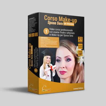 Corso Make-up Sposa Sera Online + Esame con Attestato