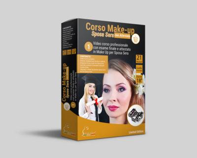 Corso Make-up Sposa Sera Online + Esame con Attestato + Kit