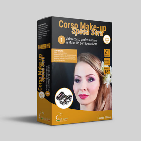 Corso Make-up Sposa Sera Online + Kit