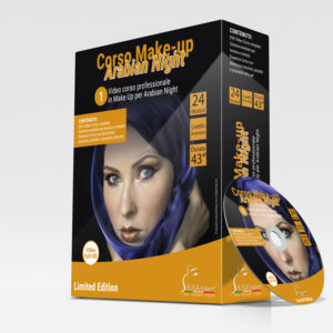 Corso Make-up Arabian Night in DVD