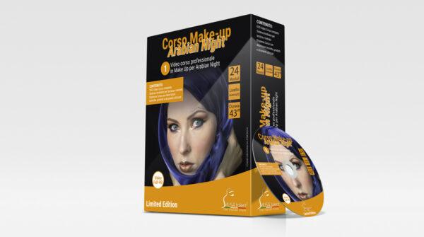 Corso Make-up Arabian Night in DVD