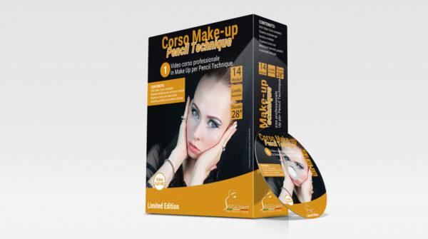Corso Make-up Pencil Technique in DVD