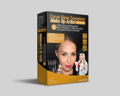 Corso base completo make up artist Online + Esame con Attestato
