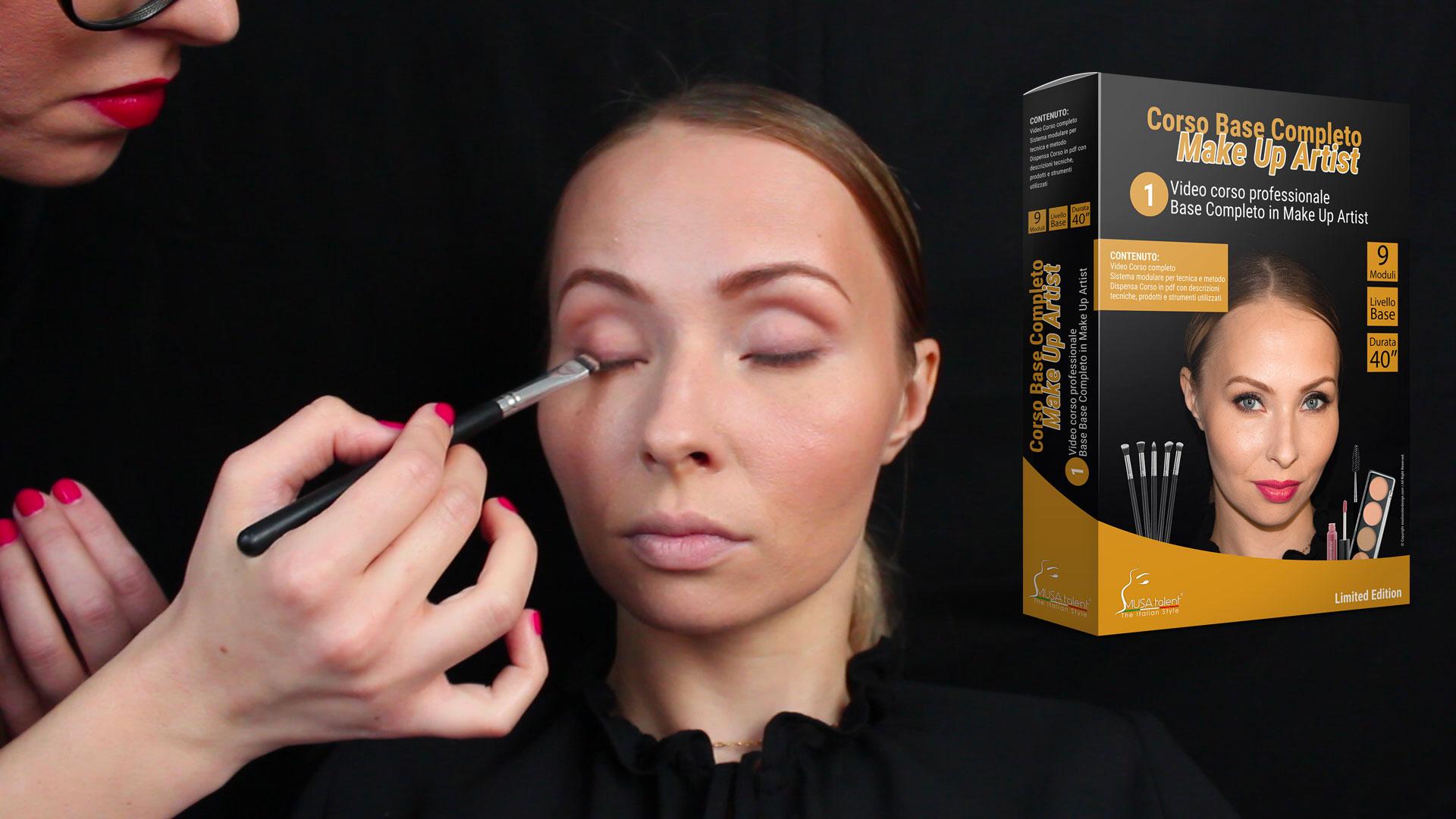 Novità disponibile online il corso base completo Make Up Artist