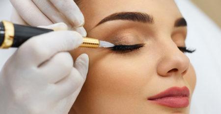 beauty; permanent; makeup; make-up; eye; eyelid; eyelids; line;